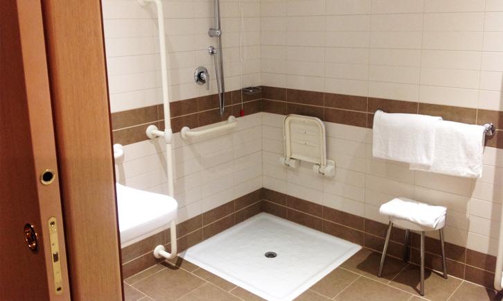 hotel per disabili a roma