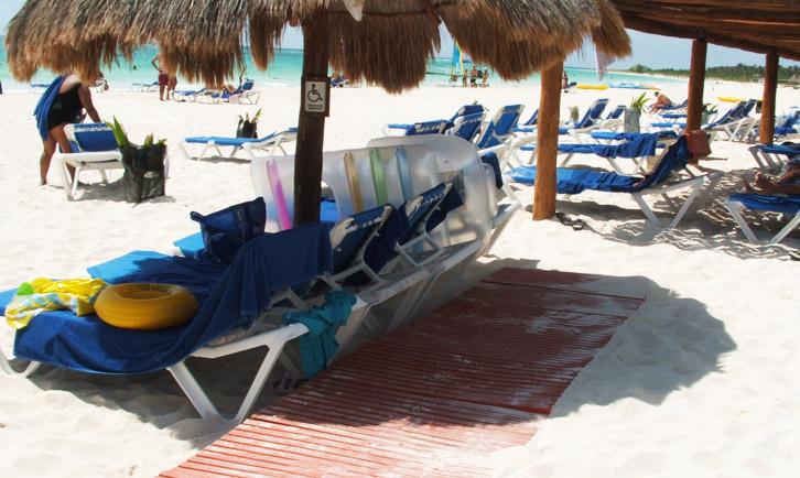 spiaggia accessibile messico