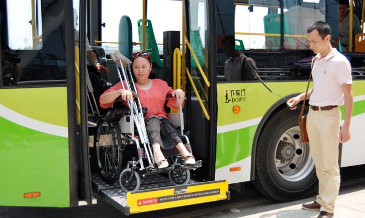 tour della cina disabili