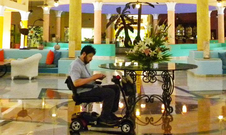 vacanza accessibile ai disabili