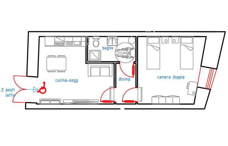 appartamenti accessibili ai disabili catania