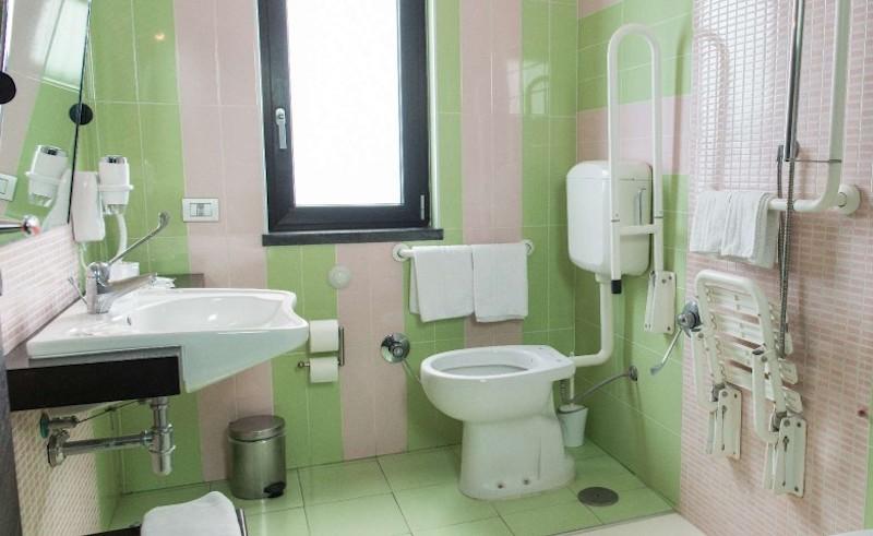 hotel accessibile ai disabili pompei