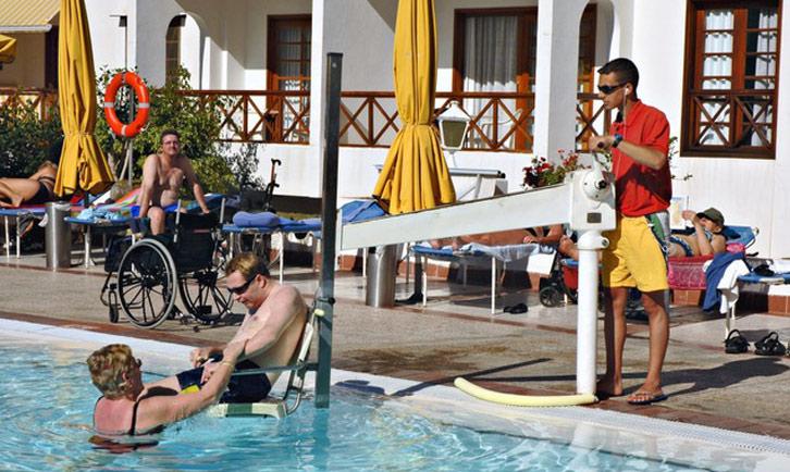 hotel accessibile ai disabili tenerife
