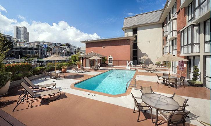 hotel disabili california