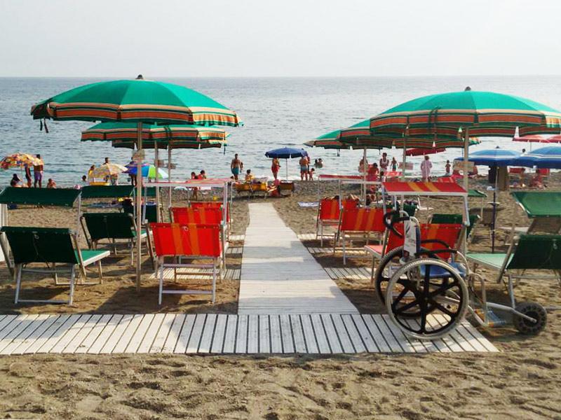 spiagge accessiibli liguria