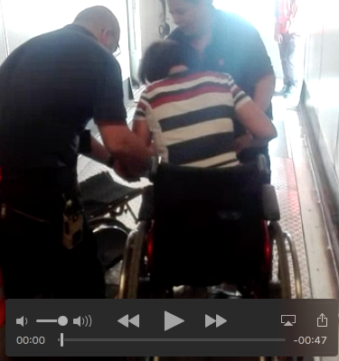 voli per disabili carrozzina